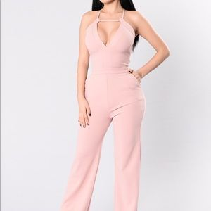 Other - Blush pink jumpsuit